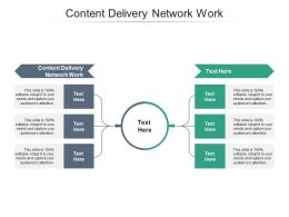 Content Delivery Network Work Ppt Powerpoint Presentation Icon Good Cpb
