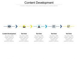 Content Development Ppt Powerpoint Presentation Infographics Infographics Cpb