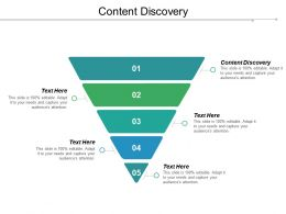 Content Discovery Ppt Powerpoint Presentation Pictures Sample Cpb