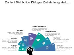 Content Distribution Dialogue Debate Integrated Educational Master Plan