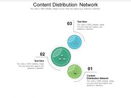 Content Distribution Network Ppt Powerpoint Presentation Outline Backgrounds Cpb