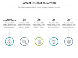 Content Distribution Network Ppt Powerpoint Presentation Styles Slide Cpb