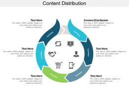Content Distribution Ppt Powerpoint Presentation File Icons Cpb