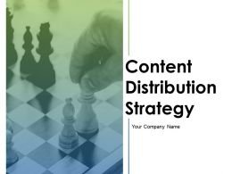 Content Distribution Strategy Powerpoint Presentation Slides