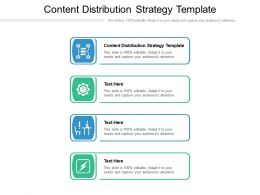 Content Distribution Strategy Template Ppt Powerpoint Presentation Outline Graphic Tips Cpb