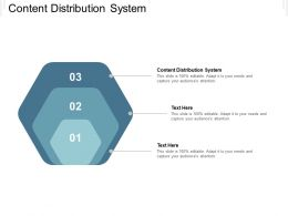 Content Distribution System Ppt Powerpoint Presentation Show Slideshow Cpb
