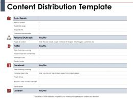 Content Distribution Template Ppt Powerpoint Presentation Gallery Pictures