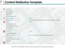 Content Distribution Template Ppt Powerpoint Presentation Inspiration Microsoft