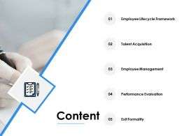 Content Employee Management F232 Ppt Powerpoint Presentation Pictures Slides