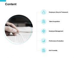 Content Employee Management Ppt Powerpoint Presentation Pictures Slide Portrait