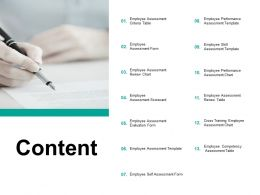Content Employee Performance I196 Ppt Powerpoint Presentation Model Example
