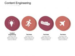 Content Engineering Ppt Powerpoint Presentation Model Design Inspiration Cpb