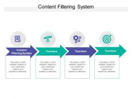 Content Filtering System Ppt Powerpoint Presentation Infographic Template Portrait Cpb