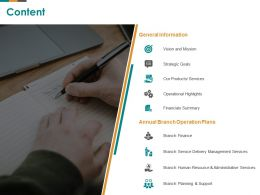 Content Finance M2607 Ppt Powerpoint Presentation Gallery Outfit