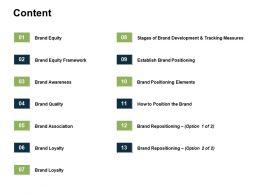 Content Framework I395 Ppt Powerpoint Presentation Summary Example