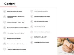 Content Future Growth Timeline Of The Company N56 Ppt Powerpoint Presentation Mockup