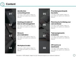 Content Identify Time Consuming Areas Ppt Powerpoint Presentation Layouts Example