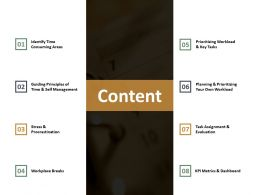 Content Identify Time Consuming Areas Ppt Summary Design Ideas