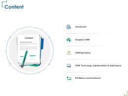 Content Implementation M338 Ppt Powerpoint Presentation Icon Slide Download