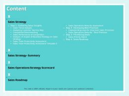 Content Implementing Lean For Improved Sales Processes Ppt Powerpoint Presentation Design