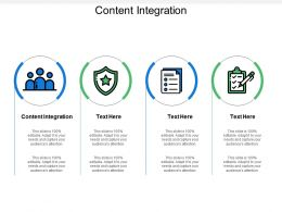 Content Integration Ppt Powerpoint Presentation Gallery Portfolio Cpb