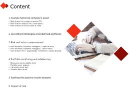 Content Investment I318 Ppt Powerpoint Presentation Visual Aids