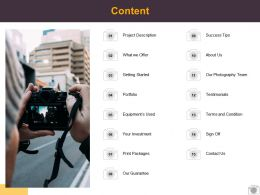 Content Investment Testimonials L514 Ppt Powerpoint Presentation Gallery