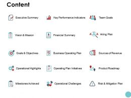 Content Key Performance Indicators K82 Ppt Powerpoint Presentation File Show