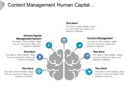 Content Management Human Capital Management System Change Management Cpb