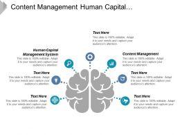 content_management_human_capital_management_system_change_management_cpb_Slide01