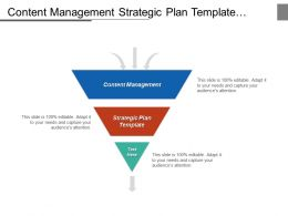 Content Management Strategic Plan Template Access Management Process Cpb
