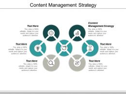 Content Management Strategy Ppt Powerpoint Presentation Gallery Structure Cpb