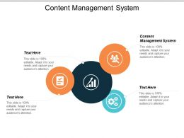 Content Management System Ppt Powerpoint Presentation Icon Brochure Cpb