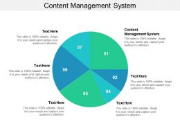 Content Management System Ppt Powerpoint Presentation Outline Inspiration Cpb
