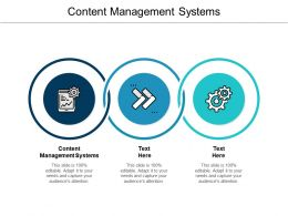 Content Management Systems Ppt Powerpoint Presentation Layouts Files Cpb
