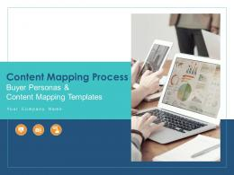 Content Mapping Process Buyer Personas And Content Mapping Templates Complete Deck
