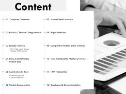 Content Market Trends L179 Ppt Powerpoint Presentation Ideas Grid