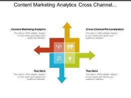 Content Marketing Analytics Cross Channel Personalization Predictive Segmentation Cpb