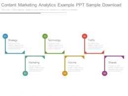 Content Marketing Analytics Example Ppt Sample Download