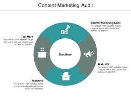 Content Marketing Audit Ppt Powerpoint Presentation Ideas Background Designs Cpb