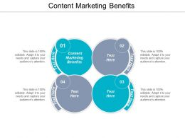 Content Marketing Benefits Ppt Powerpoint Presentation Icon Background Images Cpb