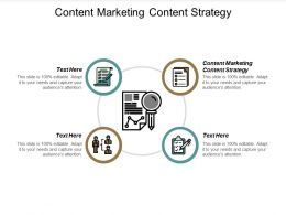 Content Marketing Content Strategy Ppt Powerpoint Presentation Ideas Templates Cpb