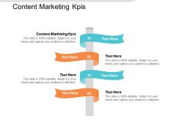Content Marketing KPIS Ppt Powerpoint Presentation Summary Example Introduction Cpb