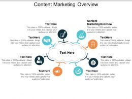 Content Marketing Overview Ppt Powerpoint Presentation Professional Smartart Cpb