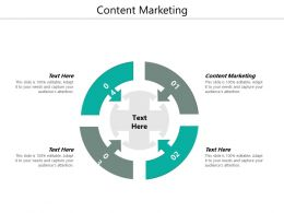 Content Marketing Ppt Powerpoint Presentation Styles Guide Cpb