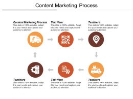 Content Marketing Process Ppt Powerpoint Presentation File Guide Cpb