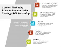 Content Marketing Roles Influences Sales Strategy Roi Marketing Cpb