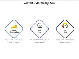 Content Marketing Sea Ppt Powerpoint Presentation Infographic Template Slides Cpb