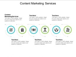 Content Marketing Services Ppt Powerpoint Presentation Gallery Slide Download Cpb