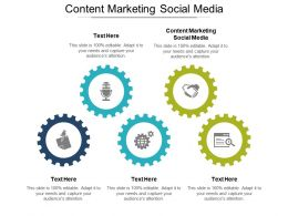 Content Marketing Social Media Ppt Powerpoint Presentation File Graphics Tutorials Cpb